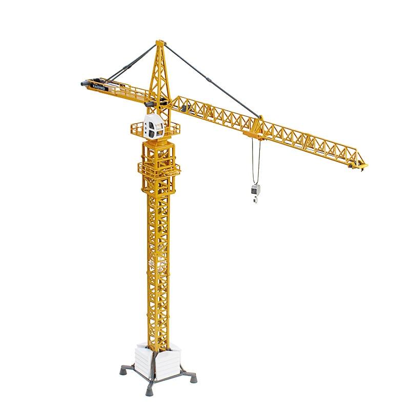 KAIDIWEI Tour grues 1:50 Alliage Ingénierie modèle De Voiture en métal Grande grue Exquis cadeau enfants jouet Ville Bâtiment Série