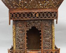 17 «Старый Бронзовый Свинка 8 Благоприятный Дракон Шакьямуни Будда храм Fo Кан Статуя