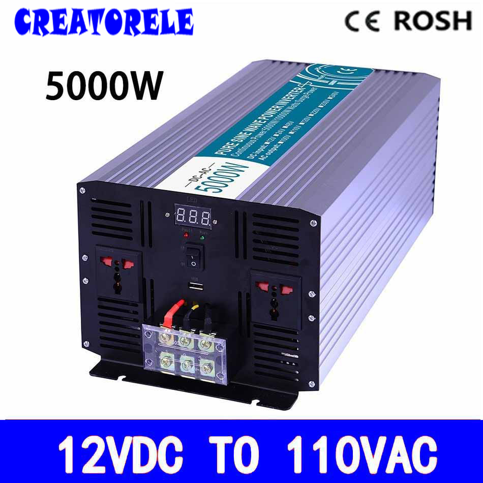 P5000-121 off grid 5000w iverter 12vdc to110vac pure sine wave voItage converter,soIar iverter IED DispIay inversor p800 481 c pure sine wave 800w soiar iverter off grid ied dispiay iverter dc48v to 110vac with charge and ups