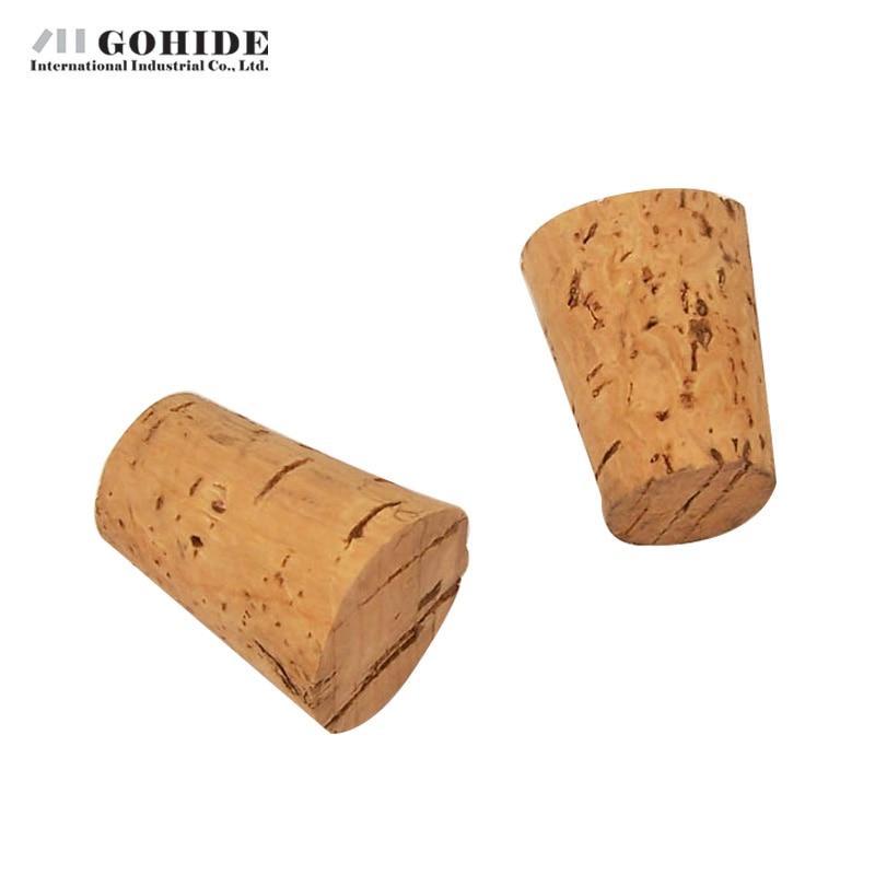 GUHD 10gab / partija Dabīgā koka korķa vīna aizbāžņa pudeles - Virtuve, ēdināšana un bārs - Foto 3