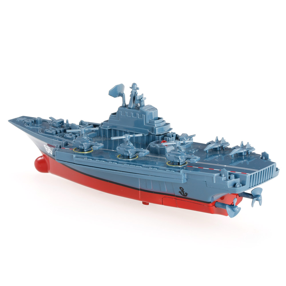Remote Control Toys RC Boat Sea Star 3319 2.4GHz All Direction Navigate Mini Radio Control Electric Aircraft Carrier Model RTR (11)