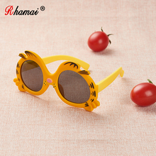 RHAMAI  kids Sunglasses girls boys glasses Eyewear baby chil