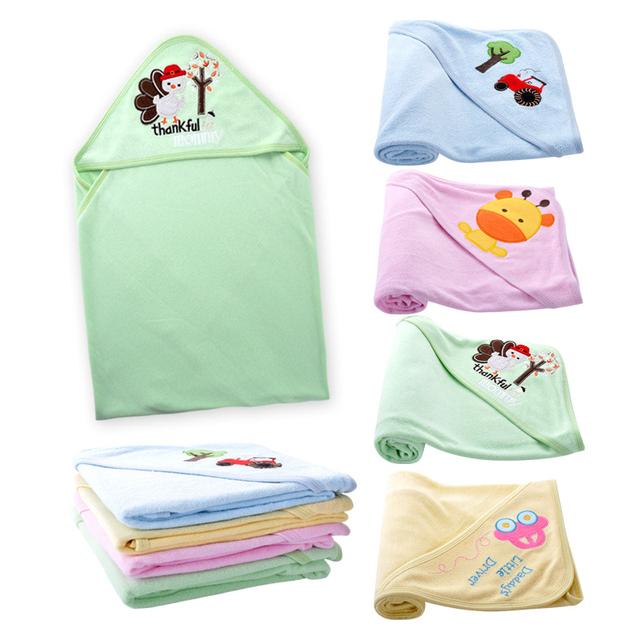 Swaddles bebê Algodão 100% Do Bebê Recém-nascido Cobertor 76*76 cm Primavera Outono Bebê Envoltório Swaddle Envelope Sleeping Bag Sleepsack