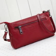 Luxury Design 100% Genuine Leather Female Bag Women's Shoulder Bag Silvery Ladies Purse Bolsas Tassel Messenger Women Handbag