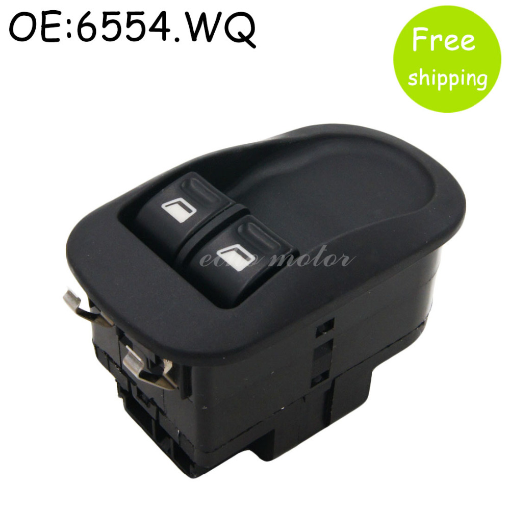 New Electric Master Window Switch For Peugeot 206 CC, 2D, 2A, SW, 2E, 2K Front Left / Right Side 6554.WQ цены