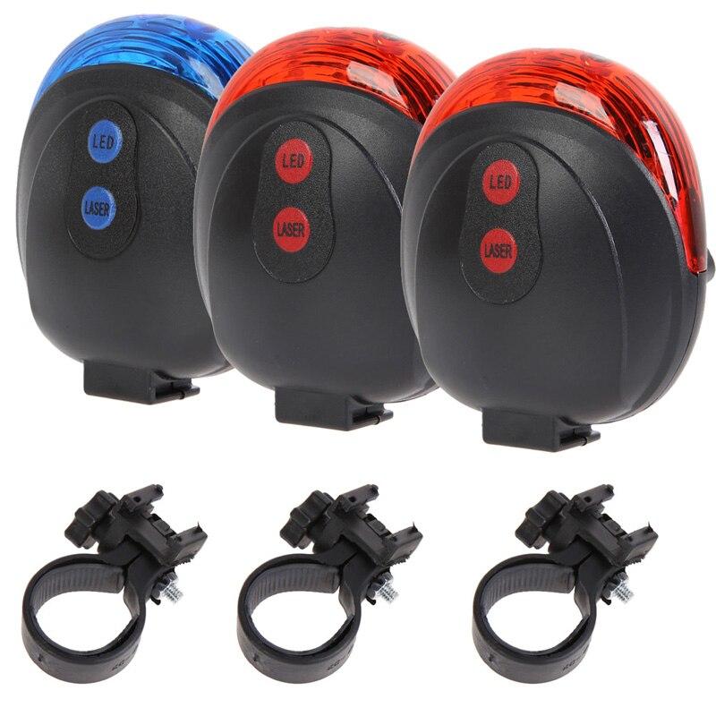 Fahrrad Radfahren Lichter wasserdicht 5-LED Fahrrad Radfahren - Radfahren