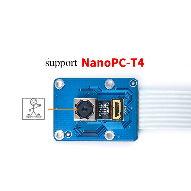 US $23 88 |13 2MP MIPI Camera Module for NanoPC T4 OV13850 image sensor  supports up to 4224 x 3136-in Demo Board Accessories from Computer & Office  on