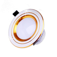 Free Shipping Dimmable 6W Cool/Warm White LED Ceiling Lights Downlight CE&RoHS kitchen led panel lights