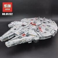 """LePin """"Звездные войны"""" 05028 75212 05027 Star 05132 Wars Building Конструкторы Пробуждение силы 75105 тысячелетия набор сокол модель игрушечные лошадки подарок ..."""