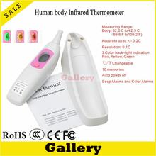Best price Termometro Infravermelho for Thermostat Digital Wenyi Human Ear Thermometer Body Infrared Htd8208 Reloj Abs Lcd Display