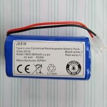 14,8 V Батарея для chuwi ILIFE V7 V7s A6 V7s pro робот пылесос литий 18650 Перезаряжаемый аккумулятор замена 2800 mAh