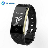 Teyo Smart Wristband S2 Heart Rate Monitor Fitness Bracelet Smart Watch Bluetooth 4 0 Wristband Activity