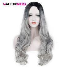 Длинные волнистые парики valenwigs 28 дюймов синтетический парик