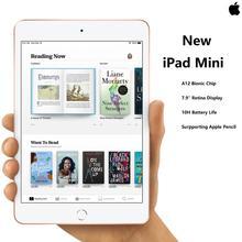 """Nouveau Apple iPad Mini 5 7.9 """"écran rétine A12 puce TouchID Super Portable supportant Apple crayon IOS tablette Super mince"""