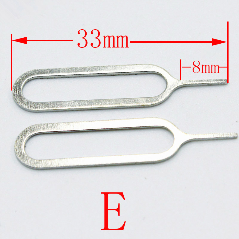 Hot Sale] 20Pcs/lot Metal Universal Sim Card Tray Pin