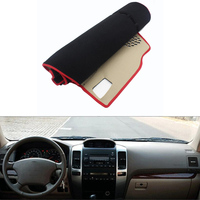 For Toyota Prado 2004 2006 Car Dashboard Avoid Light Pad Instrument Platform Desk Cover Mat Silicone