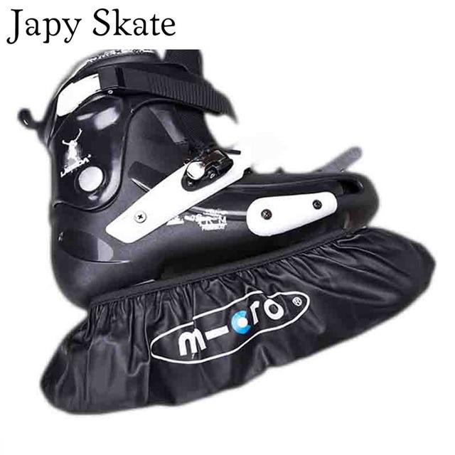 Abdeckung Tasche Skating Rollen Halter Räder Für Wasserdichte Räder SEBA US6 in Inline 4 Skates Räder Schuhe Abdeckung Skate Leder 99Japy Roller tsQdChr