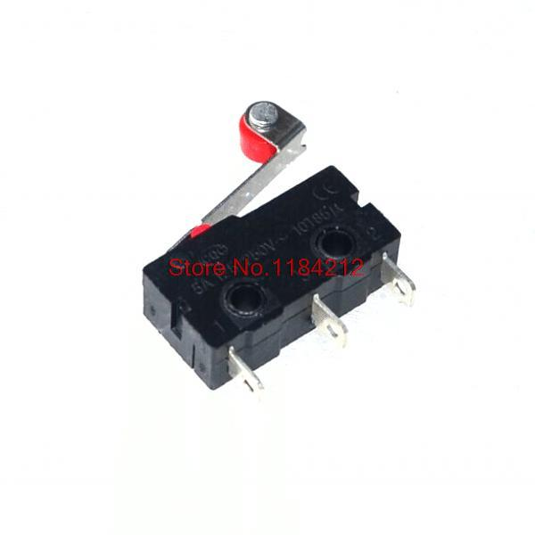 Open Close Limit Switch Wiring Diagram: 20pcs/lot New Micro Roller Lever Arm Normally Open Close