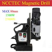 80mm kernbohrer Magnetbohrmaschinen NMD80C | 3,2 ''Magnetbohrmaschine | 1500 Watt professionelle maschine für professionelle käufer