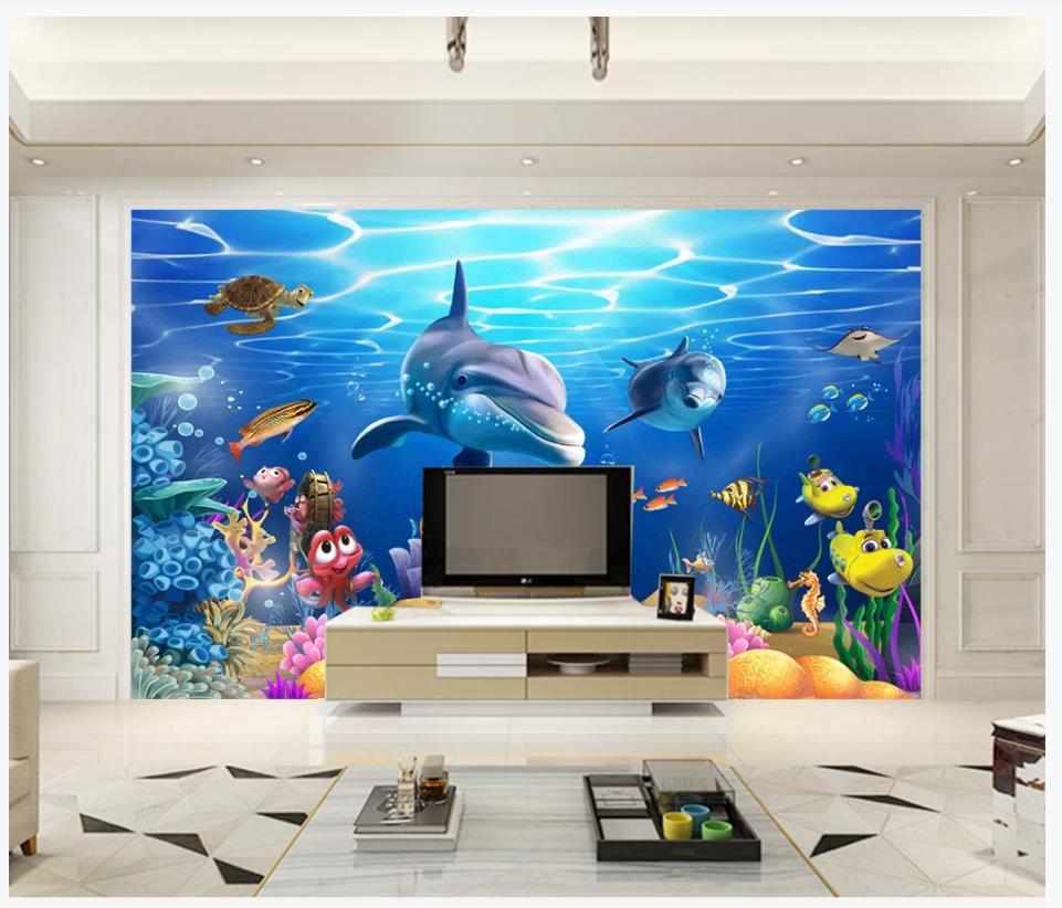 Custom Photo Wallpaper For Walls 3 D Wall Murals Wallpaper 3d