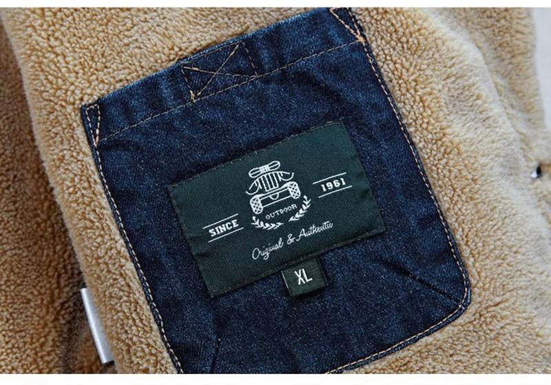 M~4XL New Retro Warm Denim Jackets Mens Jeans Coats Winter Jackets Brand AFS JEEP Thicken Denim Coat Men Outwear Male Asian Size (22)