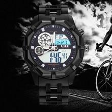 6.11 Mens Fashion Plastic Pellet Multi-function Waterproof LED Digital Watch Outdoor Military Men Sport Diving