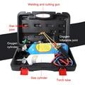 2L équipement de soudage torche O2 soudage pistolet de coupe réfrigération réparation outil de soudage ensemble 2L petit soudage à l'oxygène