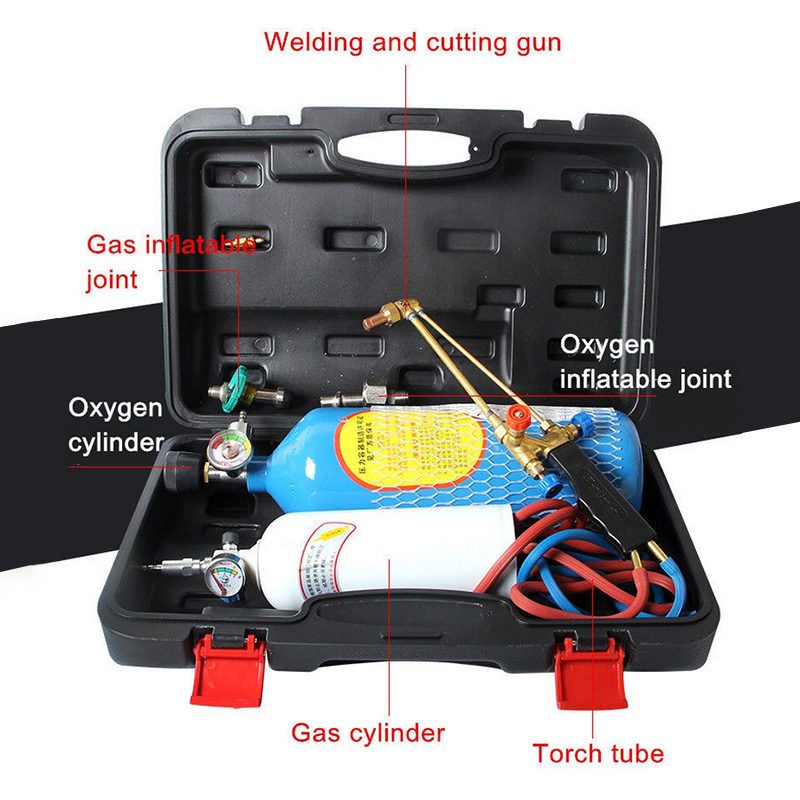 2L O2 Welding Equipment Torch Refrigeration Repair Welding Tool Set 2L Small Oxygen Welding Portable зебрано 2l