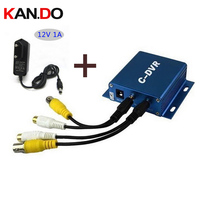Mini rejestrator DVR CCTV c-Funkcja Odtwarzania DVR z zasilacza ruchu Nagrywanie Wykrytego KANAŁ obsługa kart TF 32 GB karty SD DVR