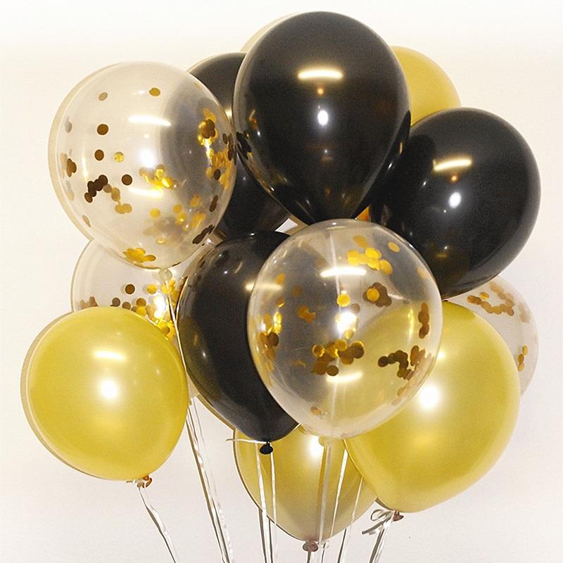 """11/"""" 50 aniversario de cumpleaños bodas de oro de Látex Helio Globos Decoraciones de aire"""