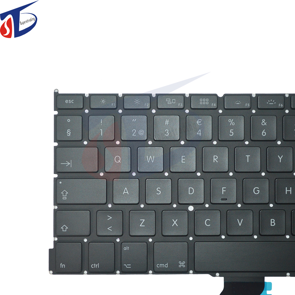 Original Laptop Swedish keyboard for Macbook Pro Retina 13 A1502 SE Sweden Swedish Keyboard clavier 2013 - 2015 year image