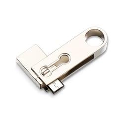 Wysoka ocena!!! 2 w 1 8GB 16GB 32GB 64GB 128GB obracać się o OTG metalowa pamięć USB Flash pamięć Flash Memory Stick dyski ForAndroid/komputera