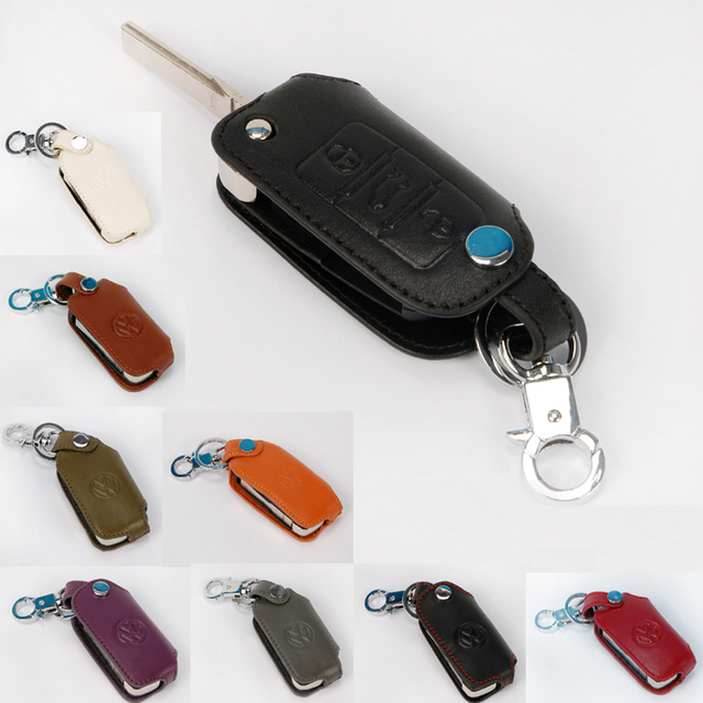 Vw бора passat lavida жук натуральная кожа верхний a автомобильный ключ бумажник комплект
