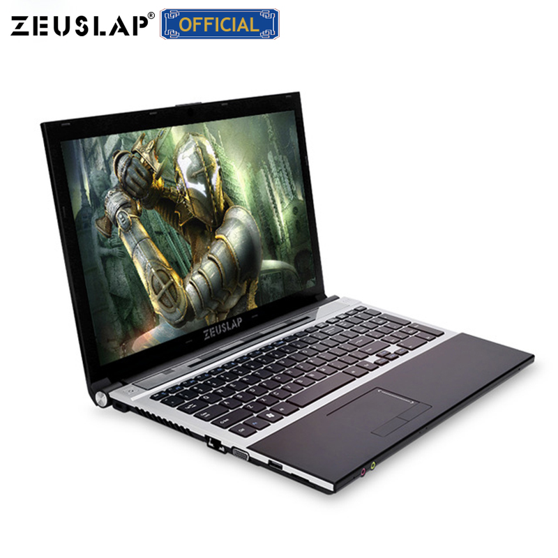 ZEUSLAP 15.6inch Intel I7 8gb Ram 750gb Hdd Dual Core 1920x1080 Screen WIFI Bluetooth Windows 10 Notebook PC Laptop Computer