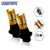 LEADTOPS Car Led Light Daytime Running Light Signal DRL Front Turn Signal Kit Resistor For Audi