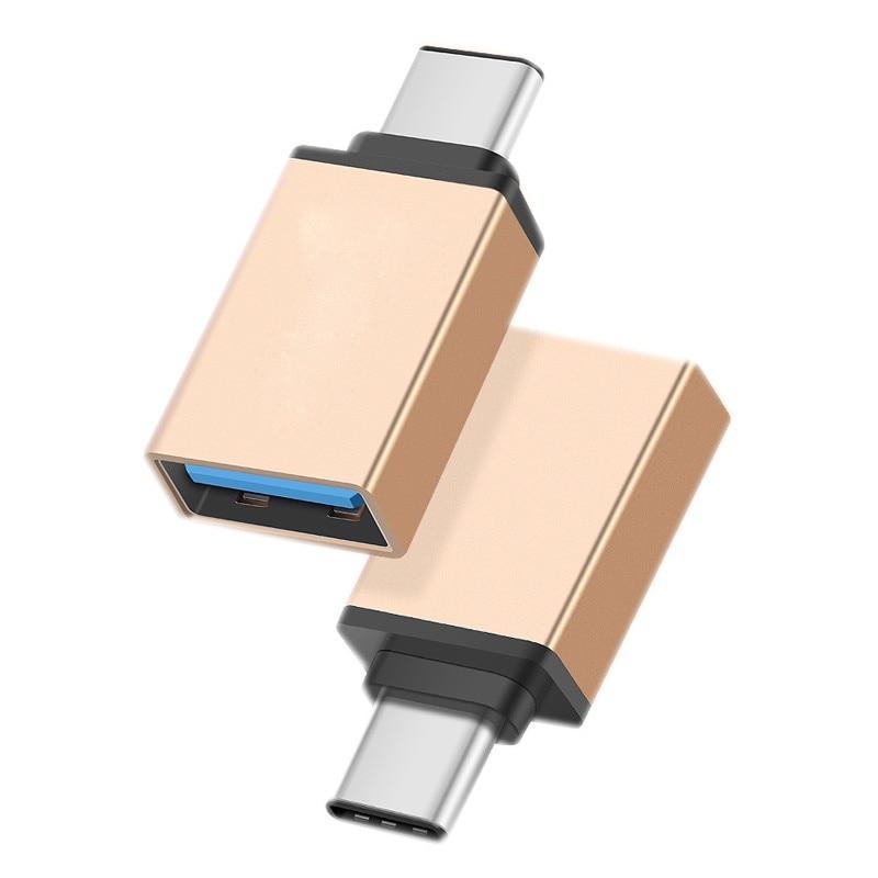 Galleria fotografica USB 3.1 Type-C to USB 3.0 OTG Adapter for Lenovo Tab 4 10 Plus, Tab 4 8 Plus, Yoga tab 3 plus 10.1, Miix 510 USB-C Converter