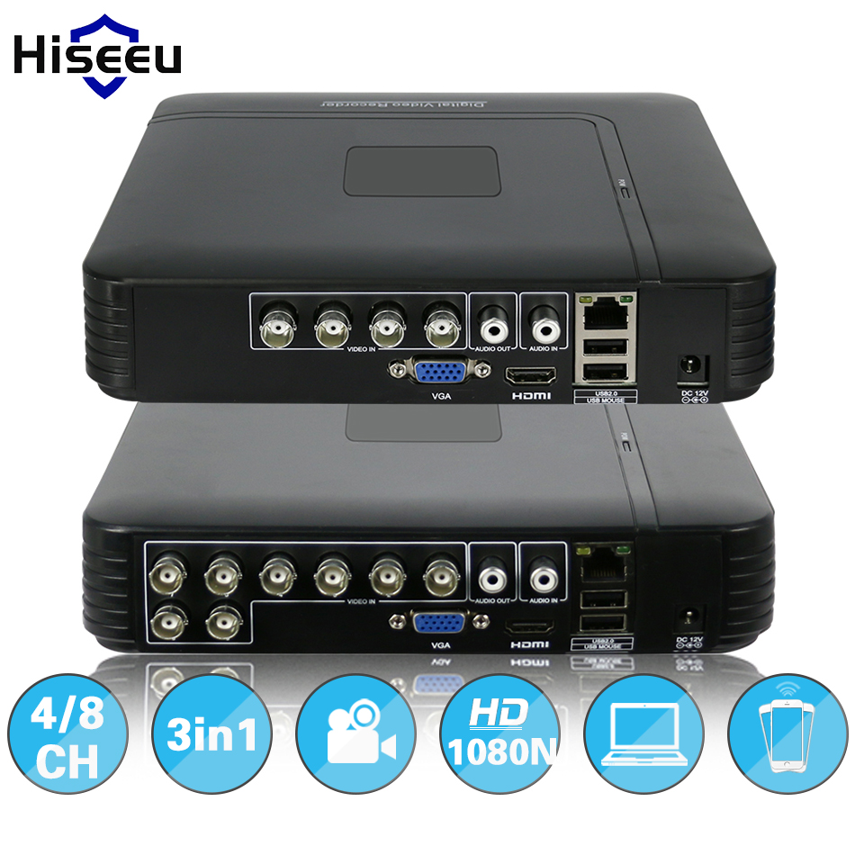 AHDNH 1080N 4CH 8CH CCTV DVR Mini DVR For CCTV Kit VGA ...