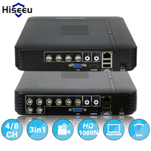 AHDNH 1080N 4CH 8CH  CCTV DVR Mini DVR For CCTV Kit VGA HDMI Security System Mini NVR For 1080P IP Camera Coaxial DVR PTZ H.264