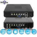 AHDNH 1080N 4CH Kit DVR 8CH CCTV Mini DVR Para CCTV VGA Sistema De Segurança HDMI Mini NVR Para 1080 P Câmera IP Coaxial DVR PTZ H.264