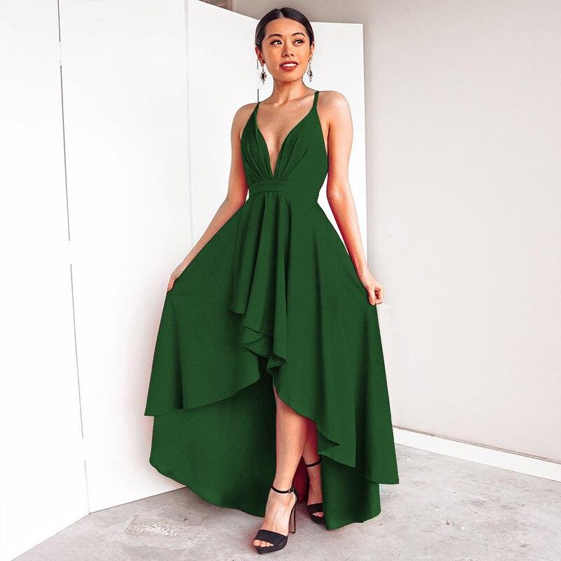 2019 nouveau Sexy été longue Robe femmes élégant dos nu Bandage robes de grande taille Vintage plage Robe de soirée Robe Vestidos