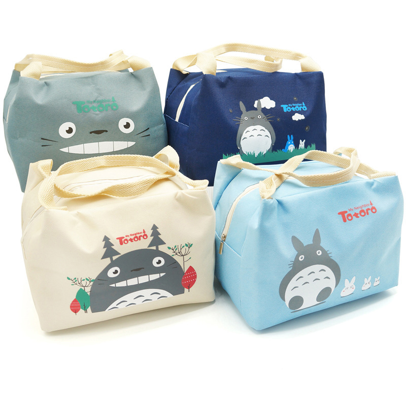 Baby Milk Bottle Insulated Totoro Bag Mummy Outdoor Travel Cartoon Warmer Food Bags Women Waterproof Lunch Handbag MY0048