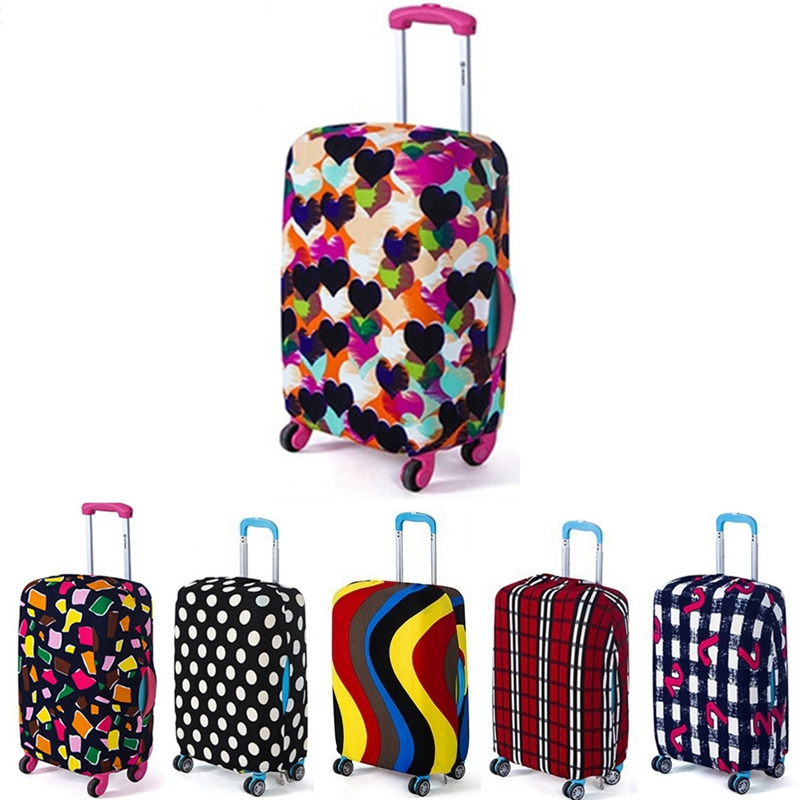 Drop Shipping Travel on Road Luggage Cover Protective Suitcase cover Trolley case Travel Luggage Dust cover for 18 to 30inch