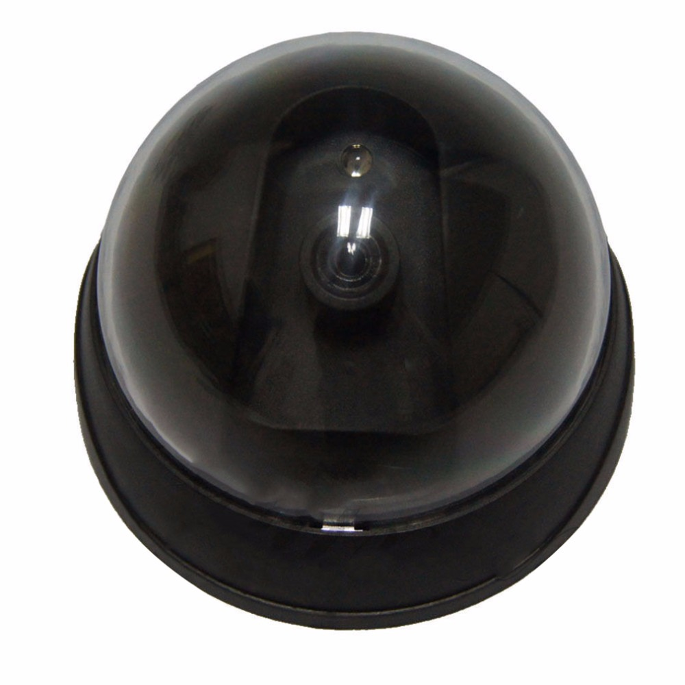 Dummy Camera Video Surveillance For Home Fake Camera Simulated Video Indoor/Outdoor IR Led Dome Camera(China)