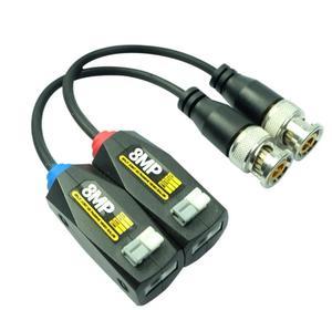 Image 2 - Transmetteur à paire torsadée 8MP HD avec protection contre la foudre 720 P/960 P/1080 P/3MP/4MP/5MP/8MP