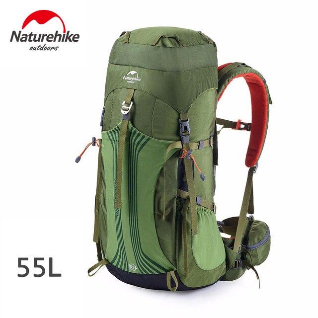 Naturehike 55L Backpacks - NH16Y065-Q Army green