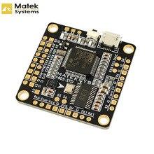 Квадрокоптер Matek BetaFlight STM32F405, Контроллер полета, встроенный Инвертер OSD для радиоуправляемых мультироторов, FPV Racing Drone, запасная часть Accs