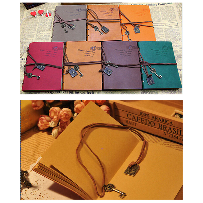 2016 New Mini Diary Bound Blank Pages Notebook Students Notebook Tavelling Journal Diary Wholesale