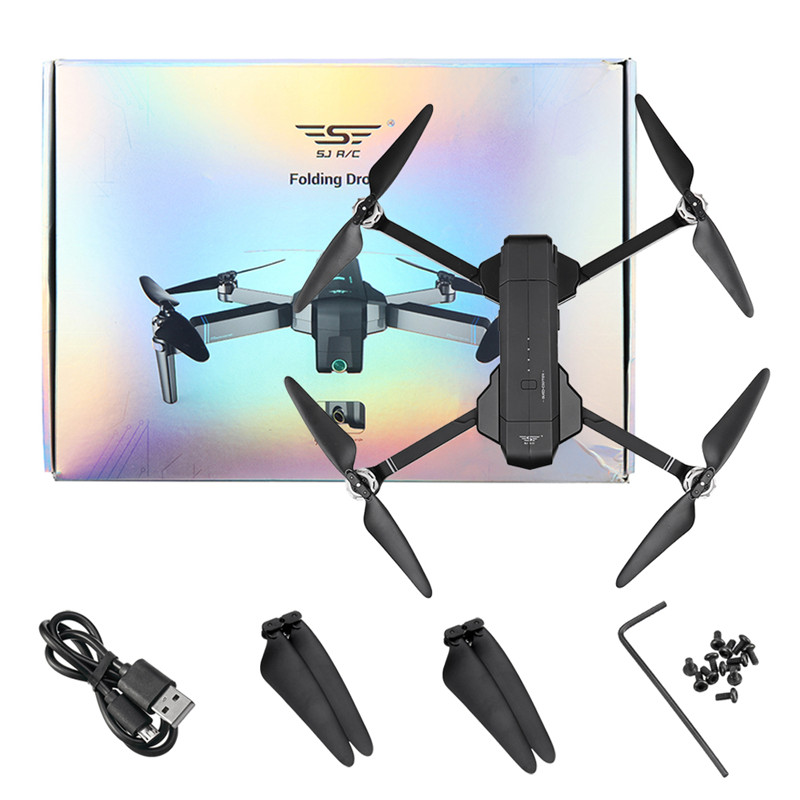 SJRC F11 GPS 5G Wifi FPV Avec 1080 P Caméra 25 minutes Temps de Vol Brushless Pliable Bras Selfie drone rc quadrirotor - 6