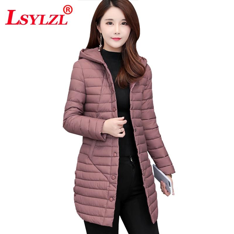Delle pink Inverno Outwear Cotone Nuovo Imbottito Di Femminile Cappotto  2018 Giacca Caramel Parka C304 Del ... 54d6f355dd85