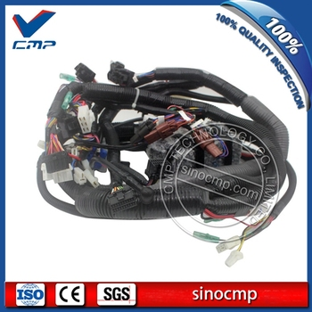 EX400-5 Excavator Inner Inside Cabin Internal Wiring Harness 0002676 for Hitachi, 3 Month Warranty